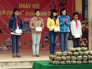 Tet gifts, charitable grants for impoverished people nationwide