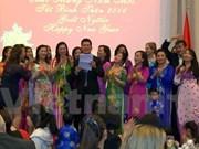 Expatriates celebrate traditional Tet in Cambodia, Australia, Norway