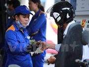 Petrol prices down over 720 VND per litre
