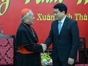 Hanoi leader conveys New Year wishes to religious organisations