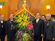 VFF President receives Catholic Church leader