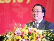 Deputy Prime Minister named Hanoi Party leader