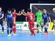 Vietnam upset Japan in futsal