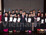 First Israeli agricultural Msc programme for Vietnamese concluded