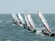Fun Cup windsurfing competition sets sail in Binh Thuan