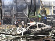Car bomb attack in southern Thailand