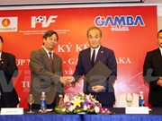 Local football talent fund inks deal with Gamba Osaka