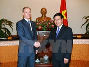 Deputy PM receives Russian Security Council Secretary