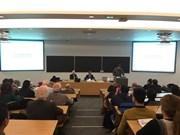 Workshop on renewable energy in Vietnam held in France
