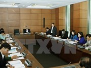 Leaders' working reports, child protection draft law discussed