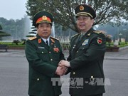 Vietnam, China defence ministers hold talks