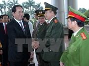 New President visits Ninh Binh province