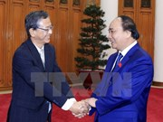 Japanese ambassador –first guest of new gov't welcomed