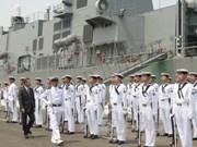 Japanese maritime self-defence vessels visit Vietnam