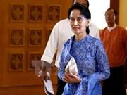 Myanmar: Aung San Suu Kyi reaffirms NLD's policies