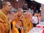 Vietnam Buddhist Sangha holds requiem for martyrs in Cao Bang