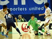 Vietnam loses 0-7 to Japan in futsal friendly match