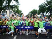 Vietnam News Agency organises run for Mother Earth Day