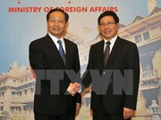 Deputy PM meets Party chief of Guangxi Zhuang autonomous region