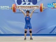 Weightlifter wins gold, silver at continental tournament