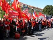 Czech newspaper highlights protest against China's actions in East Sea