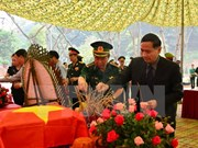 Martyrs' remains repatriated from Laos