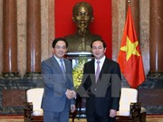 President hosts warm reception for Chinese ambassador
