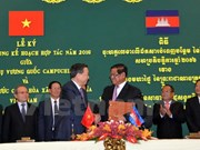 Vietnam, Cambodia boost cooperation in fighting crime