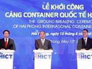 Hai Phong int'l container terminal project launched