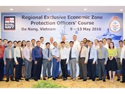 ASEAN officers join training course on protection of EEZ