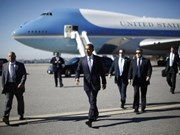 President Barack Obama leaves for Asia
