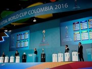 Vietnam drawn in Group C of 2016 FIFA Futsal World Cup