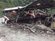 Bus explosion in Laos kills eight Vietnamese