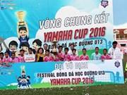 Hai Duong school claims U-13 students' Yamaha Cup
