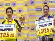 Minh, Trang represent Vietnam at Australian Open