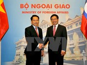 Vietnamese, Lao Foreign Ministers vow to reinforce ties