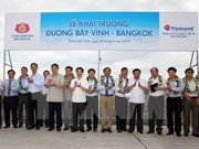 Air route linking Vinh to Bangkok launched