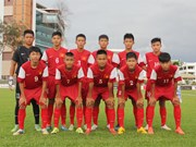 U14 nat'l team to gear up for regional football festival
