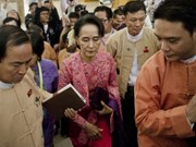 Myanmar parliament's first session ends