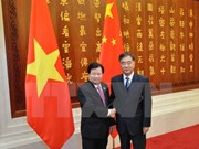 Deputy Prime Minister meets Chinese counterpart