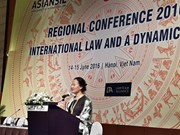 Regional conference highlights international law