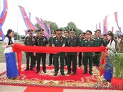 Vietnamese-funded military facilities inaugurated in Cambodia
