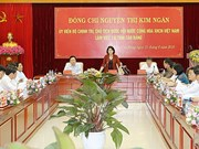 Top legislator inspects Cao Bang's rural development
