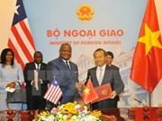 Vietnam, Liberia officially establish diplomatic ties