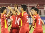 Vietnamese women footballers rise in world rankings