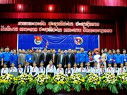 Youths contribute to fostering Vietnam-Laos relationship