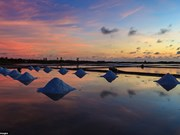 Vietnam's salt fields in top most breathtaking sunsets on earth