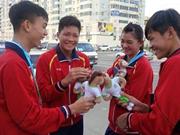 Sai takes high jump bronze at Children's Games