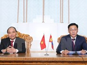 Vietnamese, Mongolian PMs discuss ways to foster bilateral ties