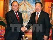 PM meets Mongolia President in Ulan Bator